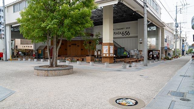 星川リリィ&656広場のゾンビランドサガマンホールの設置場所