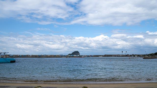 小友海水浴場のビーチ