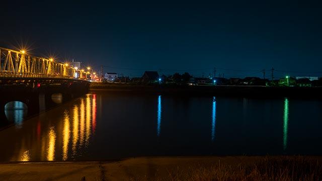 諸富橋と向こう岸