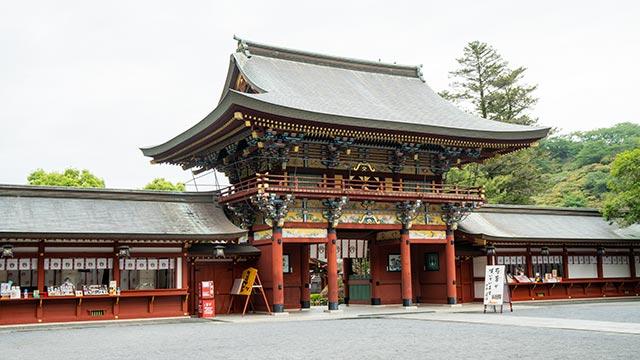 祐徳稲荷神社の桜門