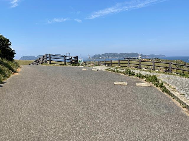 杉ノ原放牧場 東側駐車場