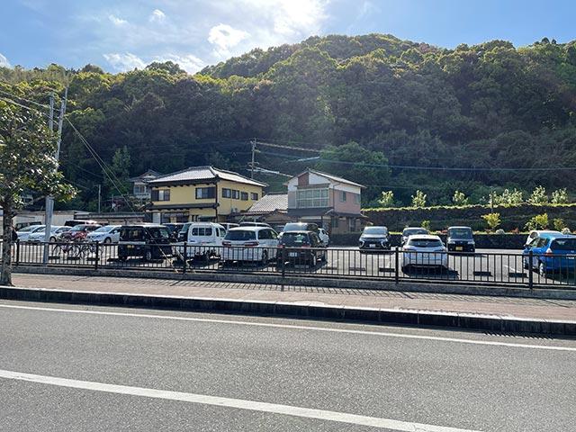 祐徳稲荷神社の駐車場