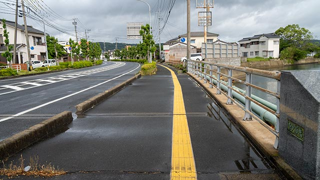 ゾンビランドサガR(リベンジ)恵比寿橋の歩道