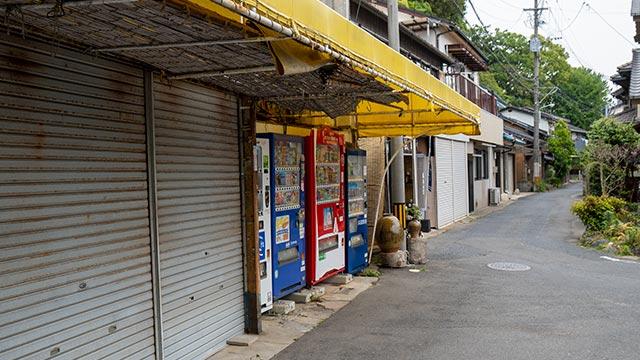唐津城下の売店