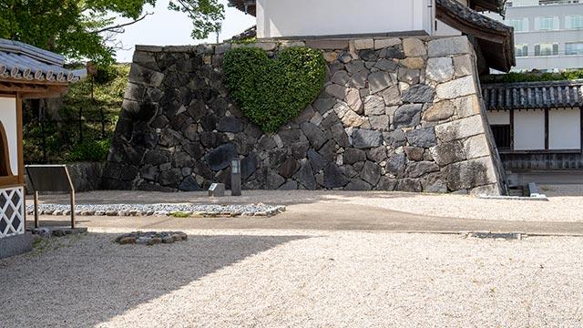 佐賀城 鯱の門 ハート型