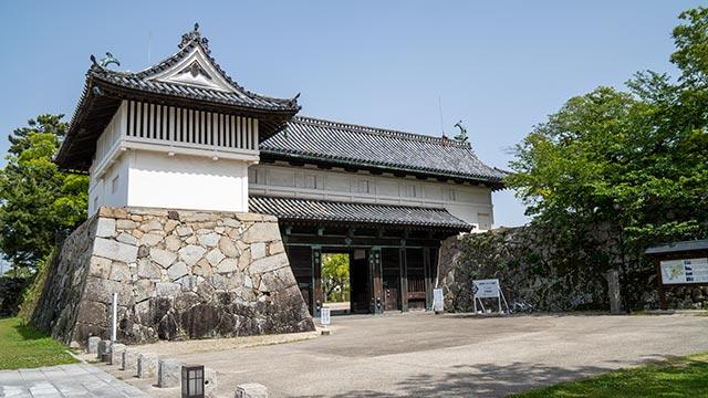 佐賀城 鯱の門
