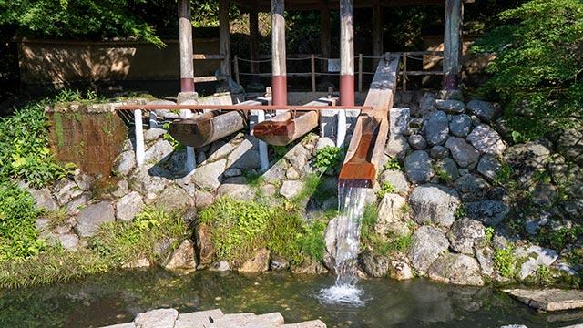 鍋島藩窯公園・大川内山の唐臼