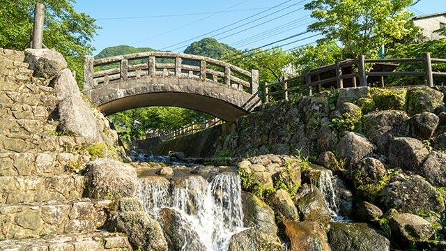 鍋島藩窯公園・大川内山の陶祖橋