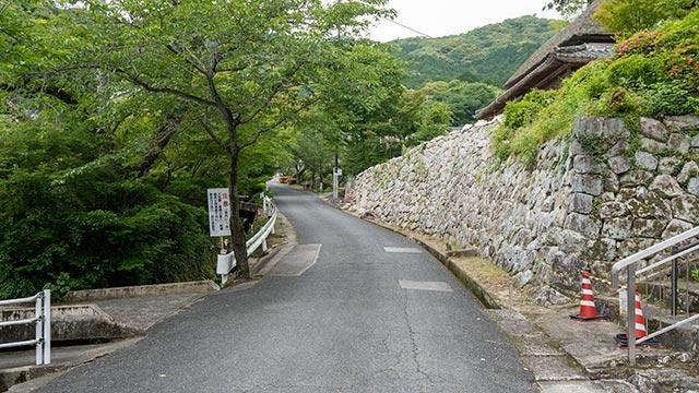 伊東玄朴旧宅前の道