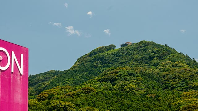 イオン唐津と鏡山展望台