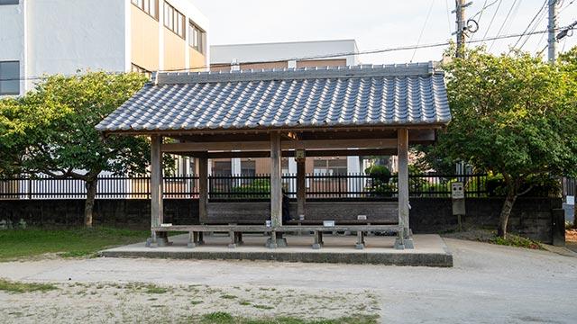 大名小路児童公園の東屋