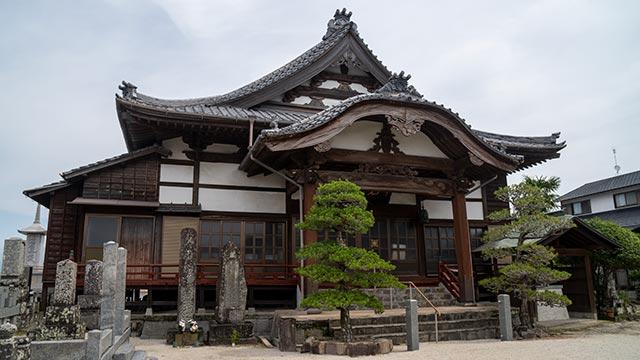 妙福寺の本堂