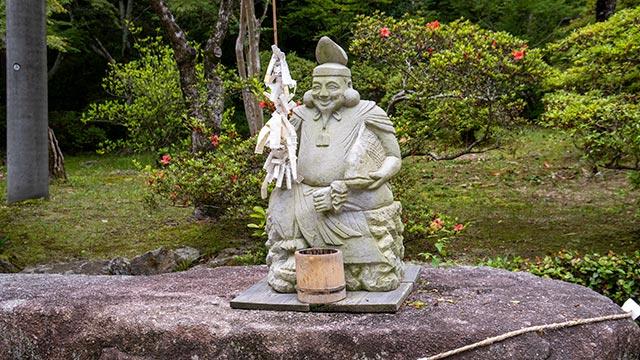 仁比山神社の恵比寿