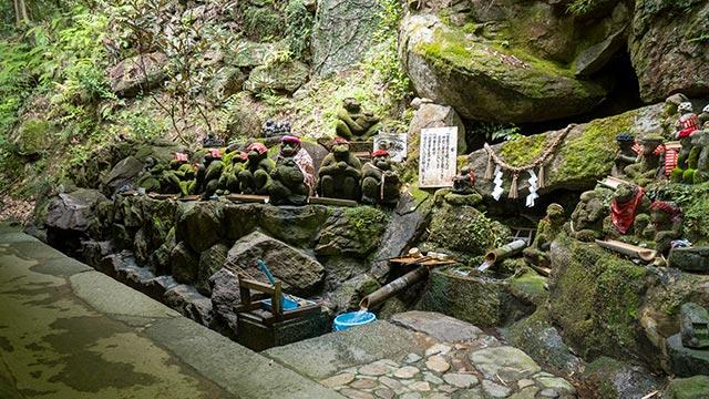 仁比山神社の神水(金剛水)