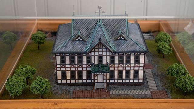 唐津市歴史民俗資料館の模型