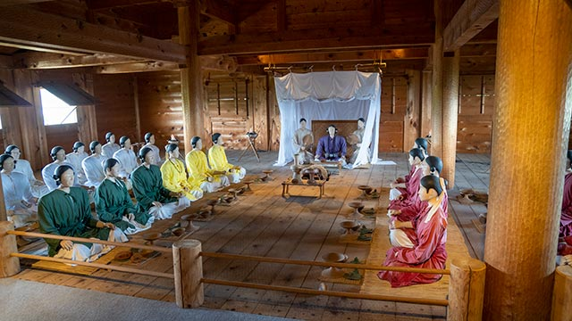 主祭殿2階