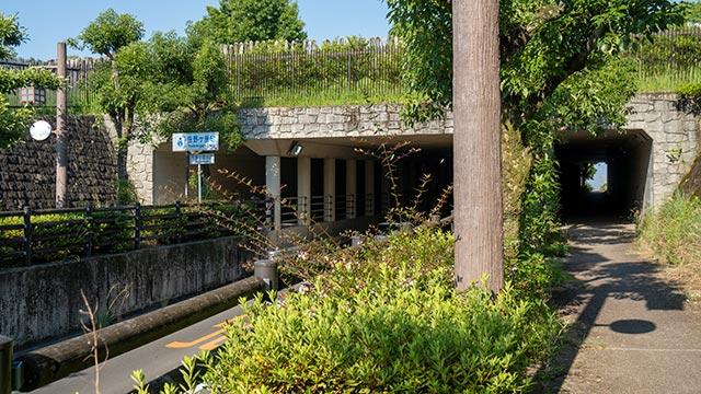 吉野ケ里遺跡アンダーパス入口